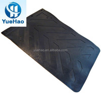Heavy duty truck rubber mud flaps for VOLVO truck