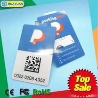 PET Material EPC1 gen 2 H3 UHF Smart Card RFID UHF Windshield tag