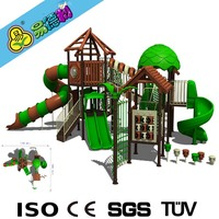 Swing and slide playground