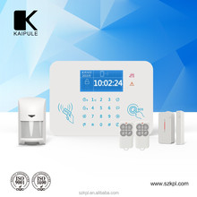 Home security GSM alarm system / GSM SMS control include PIR Motion sensor RFID intelligent ID Athorization