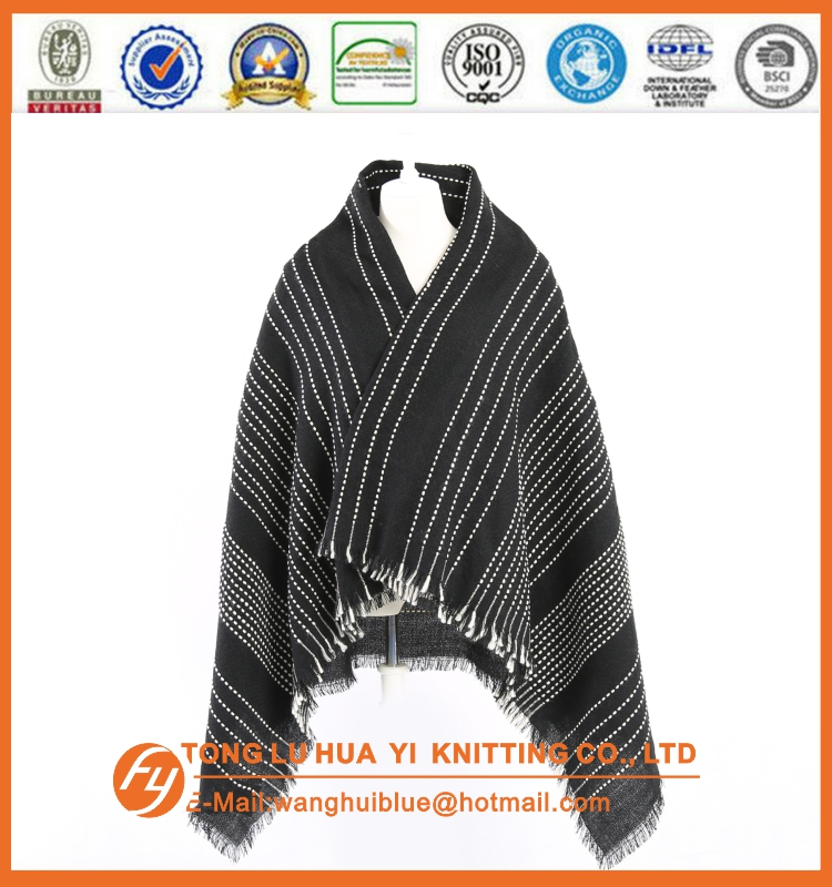 customized woven 100% acrylic blank silk scarves wholesale