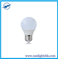 3W E27 B22 China Factory 6000K 120V LED Bulb Light