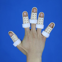 2015 new convenient orthopedic finger fracture splint / sports finger guard / finger tip protector
