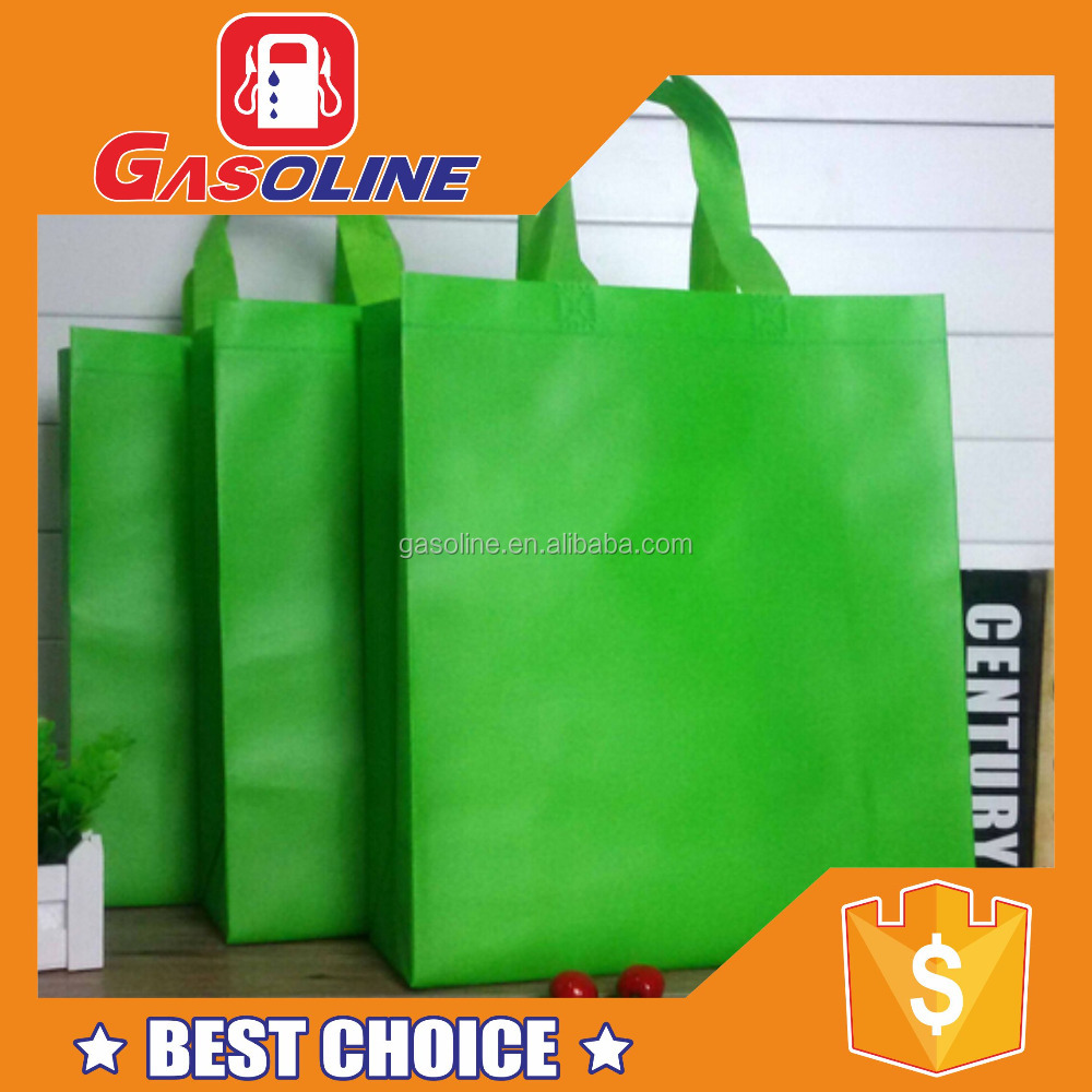 Promotional durable durable non woven foldable shopping carry bag