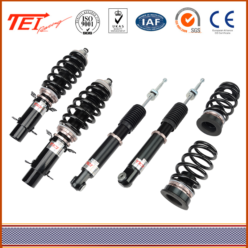 TEI 32 Ways Adjustable Height And Damping Oil High Durability rear shock absorber