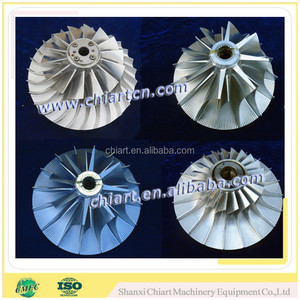 Shanxi hot sale factory turbo compressor wheel for locomotives