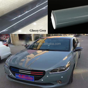 High glossy candy color changed nardo gray adhesive car pvc vinyl sticker