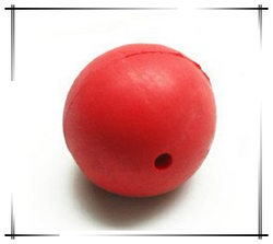 customized bounce rubber hollow ball