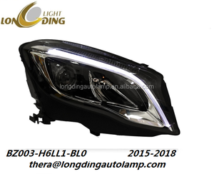 Longding new design car accessories full LED head light for Mercedes Benz GLA 2015-up modified type headlights