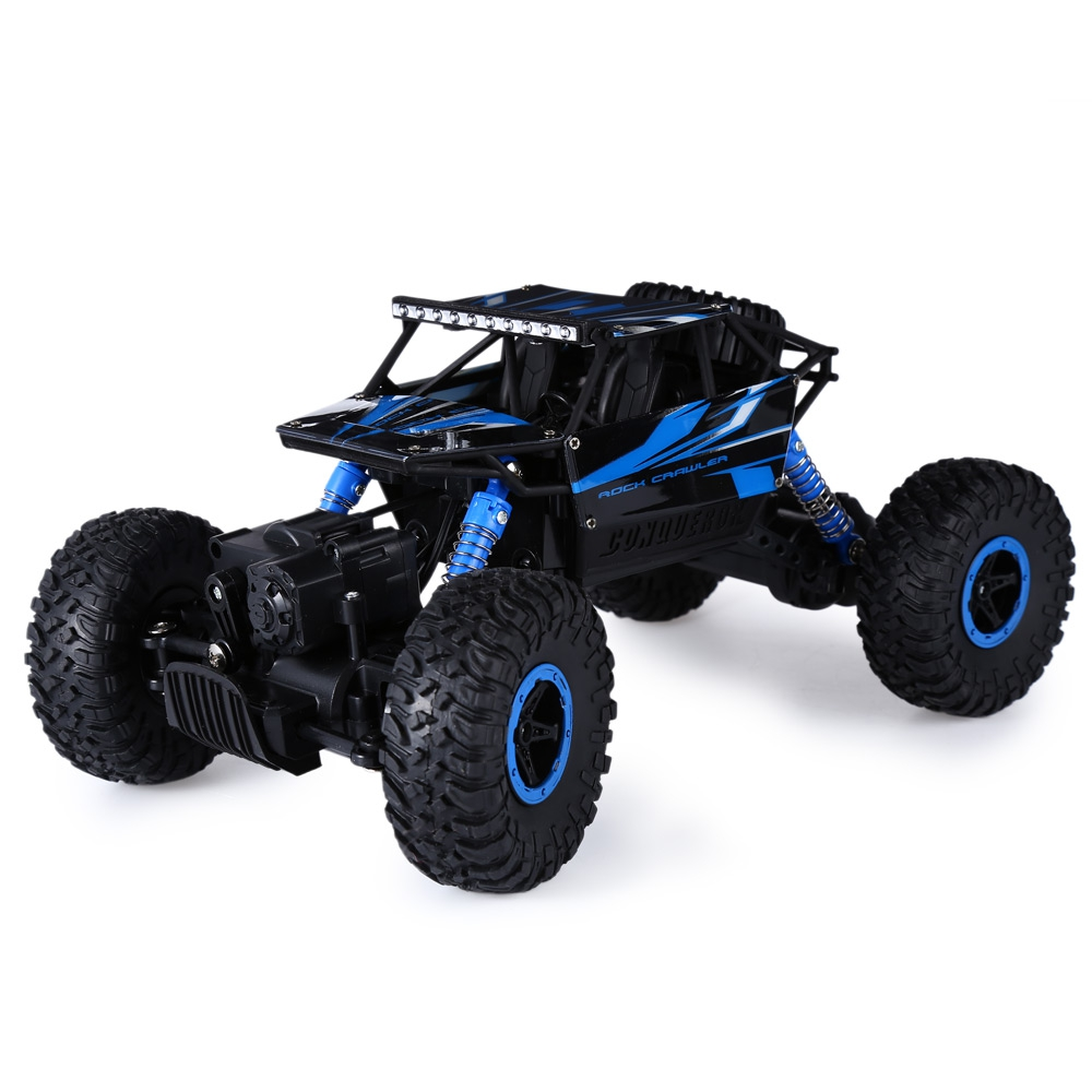 HB P1802 2.4GHz <strong>1</strong>:18 Scale RC Rock Crawler 4WD Off-road Race Truck Toy