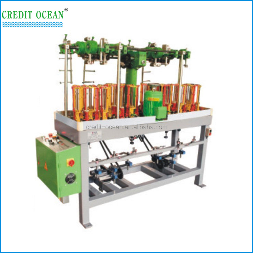 high speed cord weaving machine for braided cord