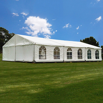 GSL-10 Luxury Big Outdoor Wedding Event Tent for 300 Seater White