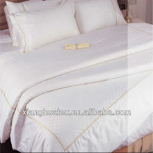 Jacquard bed linens for hotels