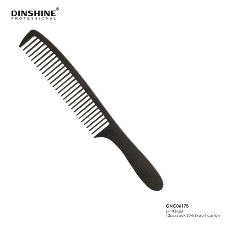 Japanese Different Types Salon Barber Antistatic Carbon Combs