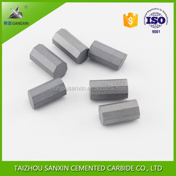 Taizhou factory K30,K40 wholesale ISO certificate tungsten carbide drill bits, octangle core drill bits for coring bit