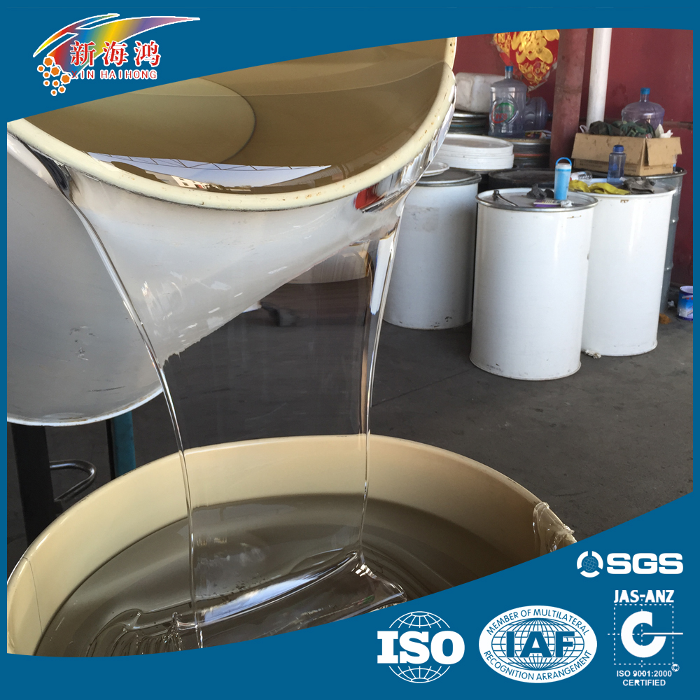 Glass coating seal Transparent Liquid Silicon Rubber /hydroxyl terminated polydimethylsiloxane