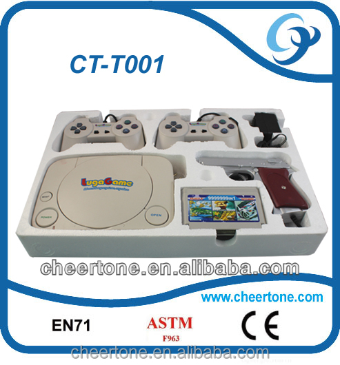 8 bit TV Video Game Console For Children with Super Mario and Gun