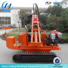 Low Price Safety barrier road fence post installing steel piling driver machine