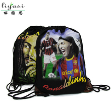 2017 Cheap New Products Promotional Cotton Drawstring Backpack