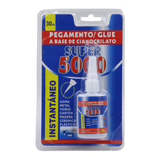 30ml 3 Seconds Super 5000 Cyanoacrylate Adhesive Glue for Paper with Bottles