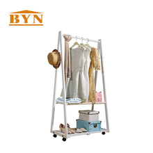 Hot Double Sided Metal Clothes Rack Store Metal Retail Clothing For Sale