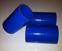 Silicone rubber hose, racing car hose, turbo engine