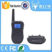 Portable Two Collars Control 300 Meters Static Wireless Remote Control Shock For Dogs