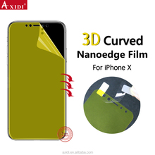 For IPhone X 10 3D Case Friendly Mobile Phone Cover Anti-Scratch Anti-shock Screen Protector