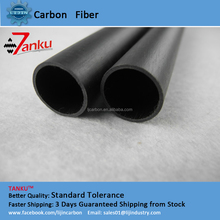 High temperature resistance 3K carbon fiber tubes,tube length (1M)