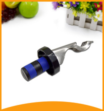 new products 2016 gadget wine stopper with beer opener