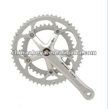 39/53T bicycle chainwheel and cranks for road racing