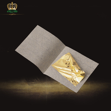 Chinese cheap 24k genuine gold foil leaf for furniture decoration