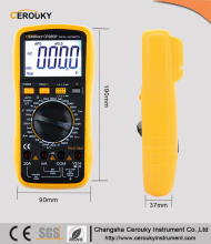 Handheld true RMS backlight best digital multimeter dt832 vc99