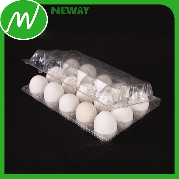 Wholesale Clear Empty Plastic Egg Tray Crate