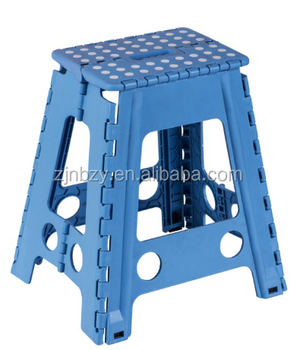 Plastic Folding Stool with 39cm height