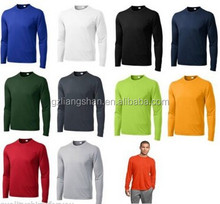 OEM Wholesale Bulk NEW MEN'S MOISTURE WICKING 100% Polyester DRY FIT Long Sleeve SPORTS T-shirts XS-4XL