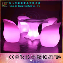 Hot Sales bar illuminated led furniture dubai antique bar furniture with RGB LED