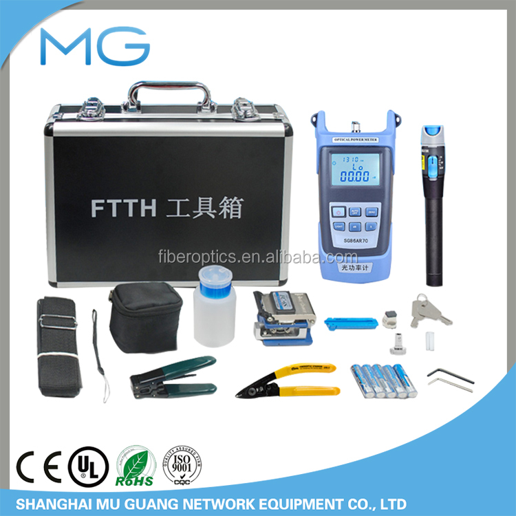 Optical fiber home tool kit FTTH cold junction tool kit tool kit fiber cutting knife