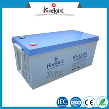 12V 200ah battery solar deep cycle battery sealed vrla battery