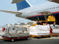 Air freight service from Shanghai to Bristol