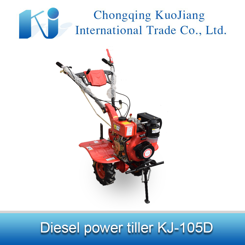 178F diesel engine manual start multi-function power tiller