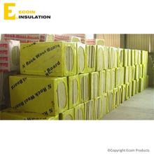 Granulated Rockwool Insulation Soundproof Rockwool Sandwich Panel