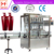 8 heads automatic bottle filling machine for ketchup/oils/sauce/cosmetic