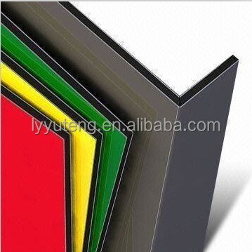 Curtain wall PVDF coated ACP / ACM composite panel aluminum for Construction & Real Estate