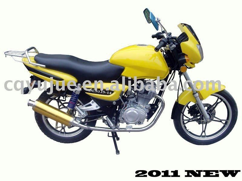 DLS 125cc CNG motorcycle