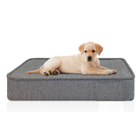 2015 OEM samples Private label dog bed house pet dog bed Memory Foam Dog Bed