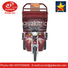 High Quality 3 Wheel Electric Bicycle With 1+6 Seater Tuk Tuk Taxi Rickshaw Bike For Sale