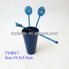 Rotating round end coffer stirrers mixer food grade
