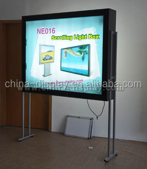 Indoor or Outdoor poster scrolling truck mobile led display