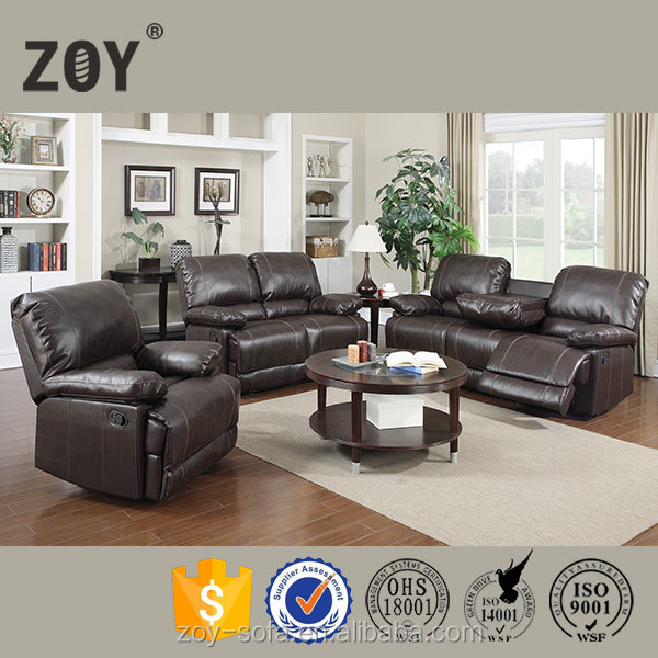 hot classic America Style Modern leather Sofa set Furniture,Recliner Chair